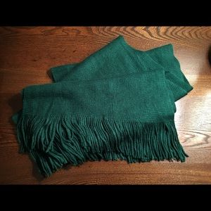 Forest Green scarf.